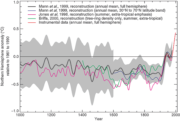 Mann's disappearing trick in IPCC TAR